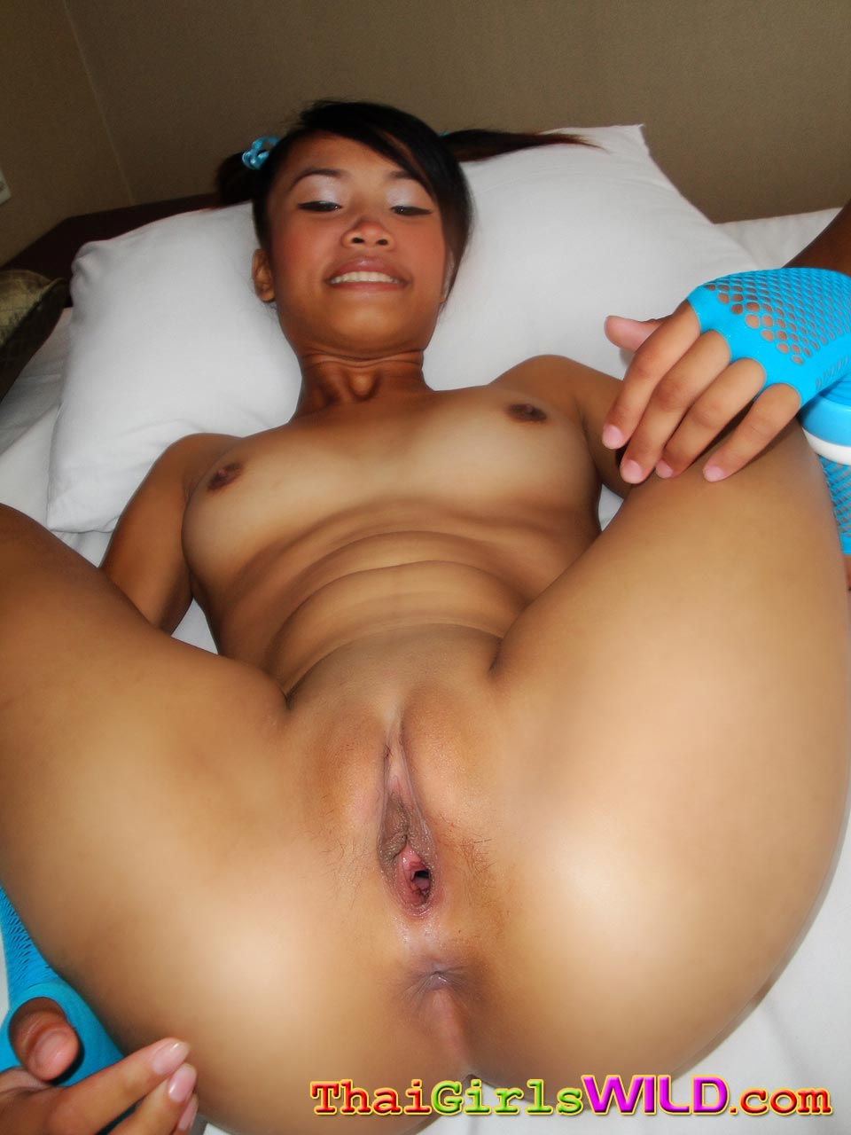 Skinny asian slut